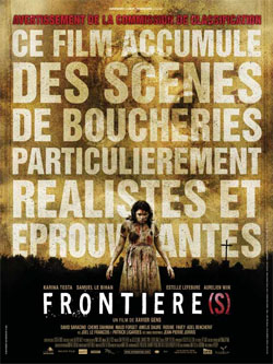 affiche du film Frontieres