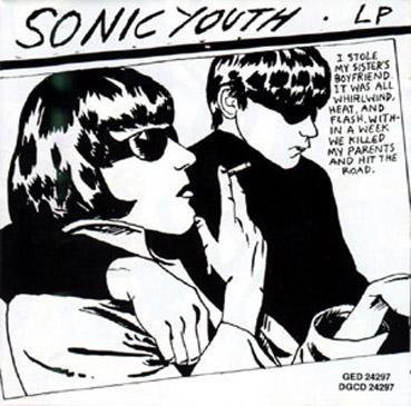 "Sonic Youth - couverture de l'album ""Goo"""
