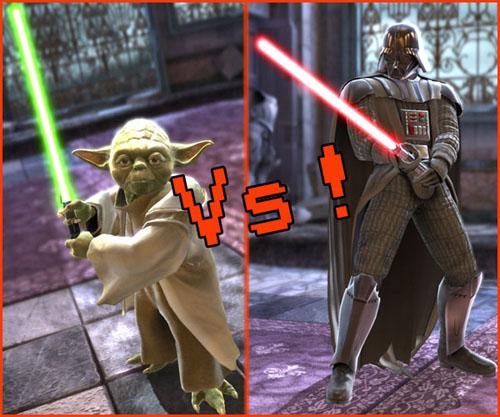 Soul Calibur 4: enfin Yoda VS Vador