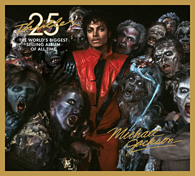 "Michael Jackson : couverture ""THRILLER 25TH ANNIVERSARY EDITION"""
