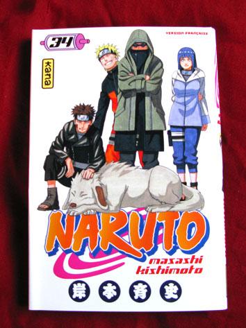 Naruto couverture tome 34