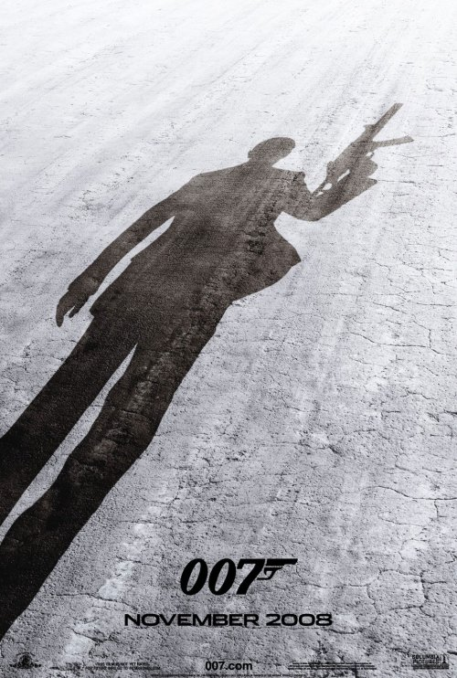 quantum of solace james bond affiche