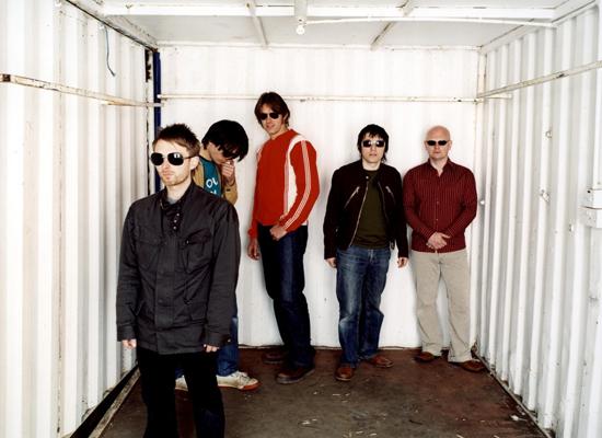 Radiohead - le groupe au complet se la joue
