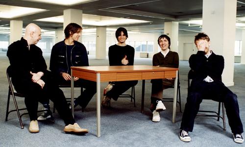 Radiohead - le groupe au complet