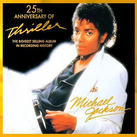 "Michael Jackson : cover ""THRILLER 25TH ANNIVERSARY EDITION"""