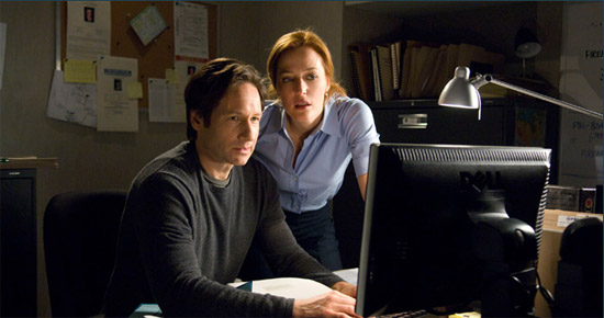 X files 2 : Fox Mulder & Dana Scully