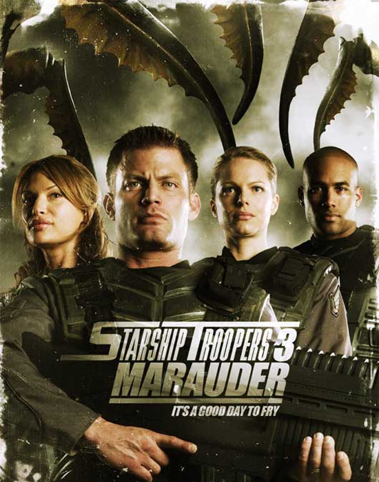 Affiche Starship Troopers 3 Marauder
