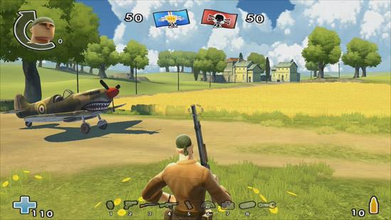 Battlefield Heroes : vue à la troisième personne