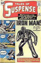 Les débuts d'Iron Man dans Tales of Suspense