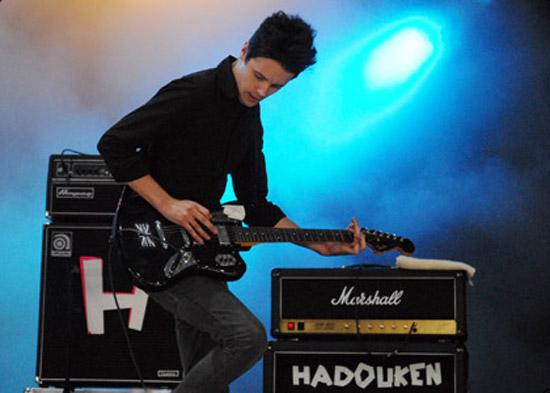Hadouken ! en concert au Botanique
