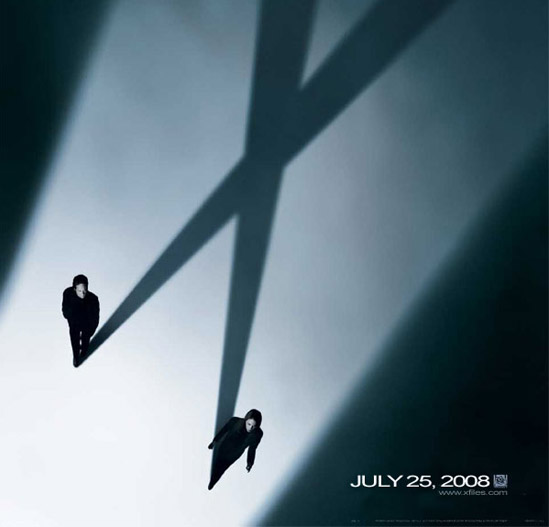 Affiche teaser du film X Files 2