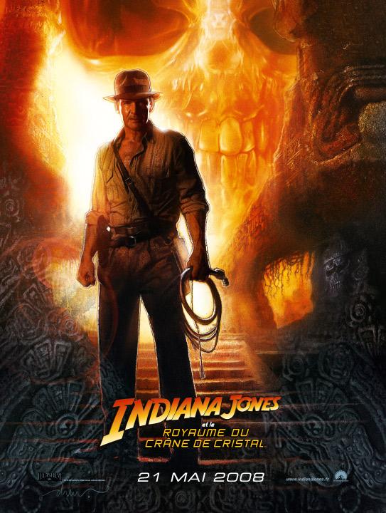 Affiche du film Indiana Jones 4 : Nouvelle bande annonce