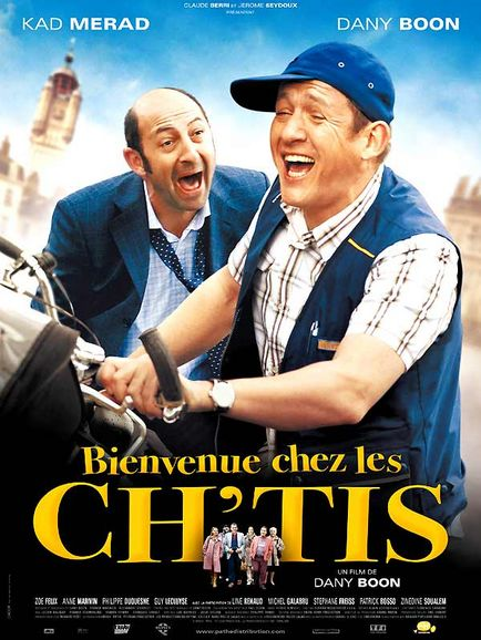 affiche les chtis - dany boon