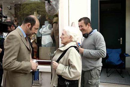 Kad Merad, Line Renaud et Dany Boon sur le tournage de Bienvenue chez les Ch'tis !