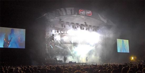 Pukkelpop, concert rock et techno en Belgique, edition 2008