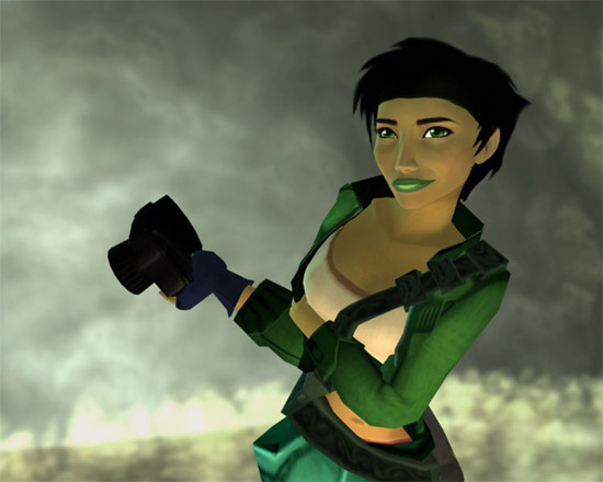 Jade dans Beyond Good & Evil