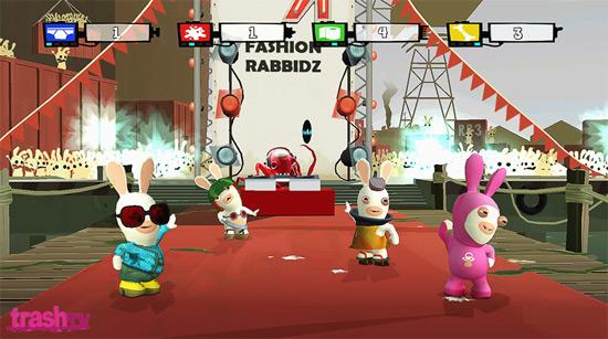 Les Lapins Crétins de retour sur WiiFit ![Ubidays 2008]