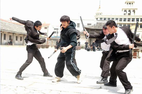 Après le foot, Shaolin Basket
