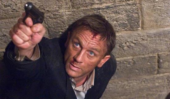James Bond : Quantum Of Solace : première vidéo