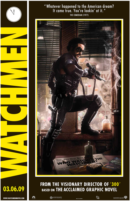 Nouveaux posters pour Watchmen
