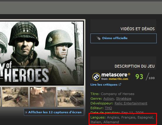 Steam est-il en français ?