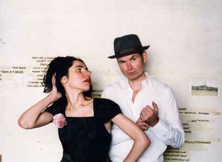 'A Woman A Man Walked By', album de Pj Harvey + John Parish