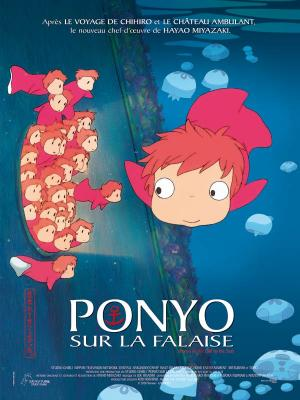 ponyo sur la falaise - miyazaki