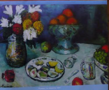 Picasso : La desserte, 1901