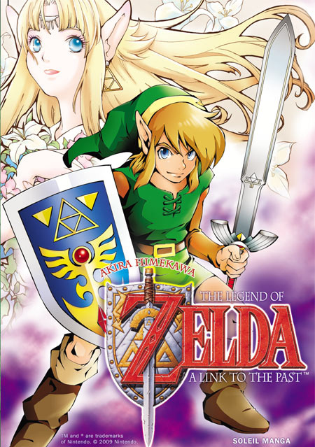 Zelda en manga : A Link to the Past