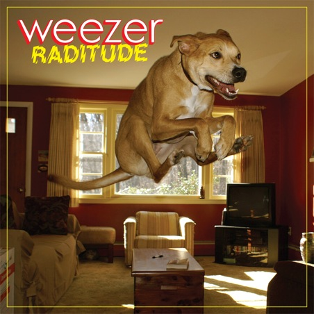 raditude pochette1 Weezer : faites connaissance de Sidney le Mascote