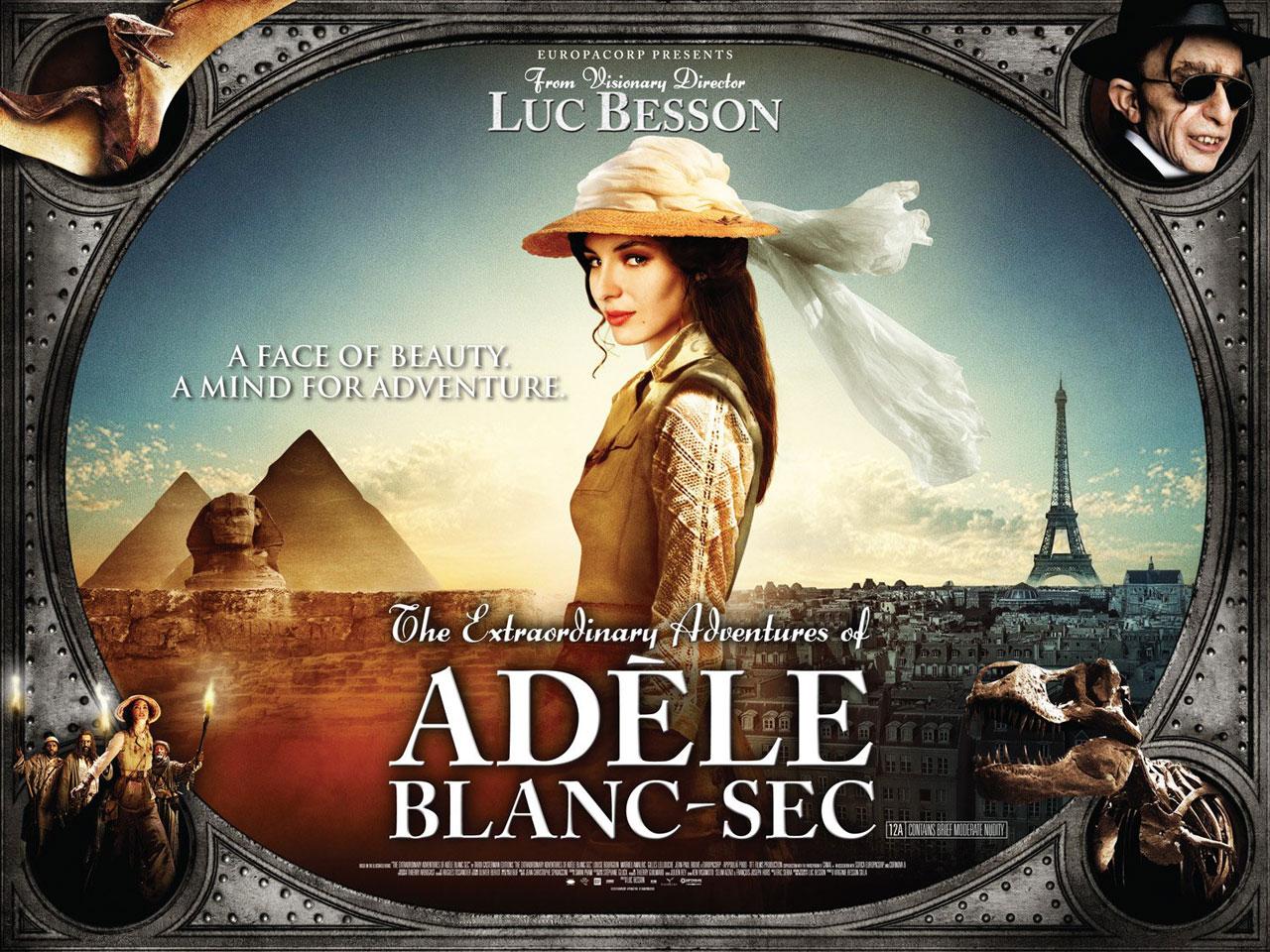 «Les Aventures extraordinaires d'Adèle Blanc-Sec» – premier teaser