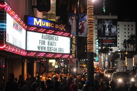 Radiohead pour Haïti