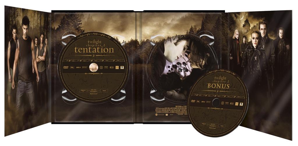 Twilight Chapitre 2 en DVD et Blu-Ray