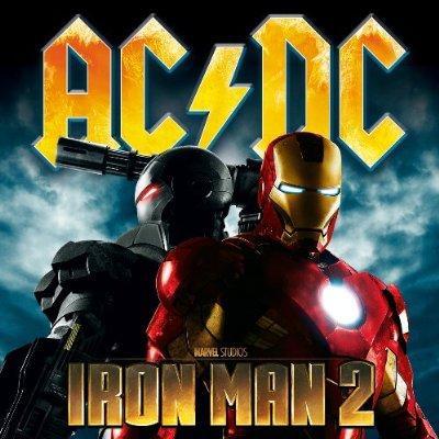 AC/DC : Iron Man 2 en vidéo