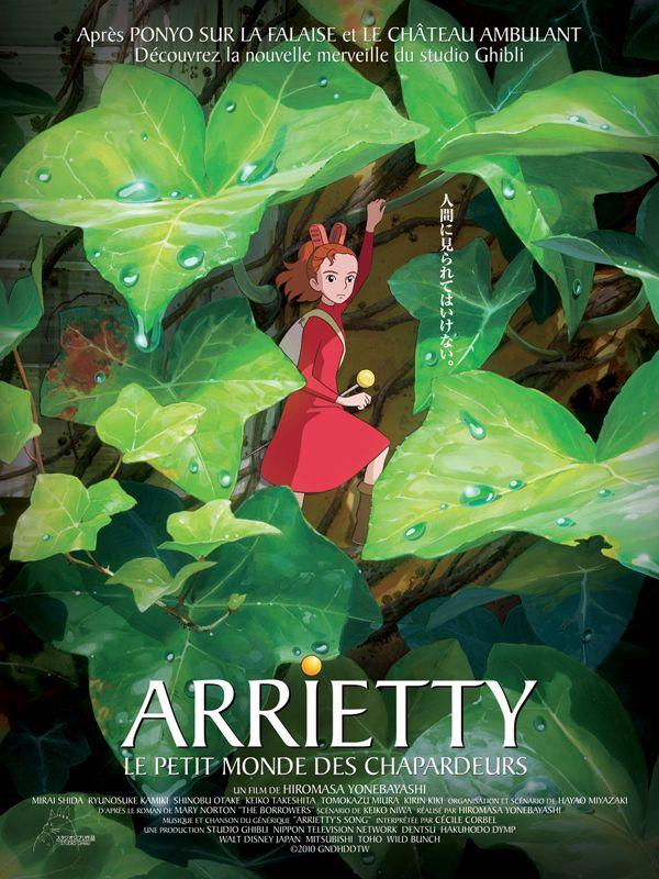 «Arrietty, le petit monde des chapardeurs»