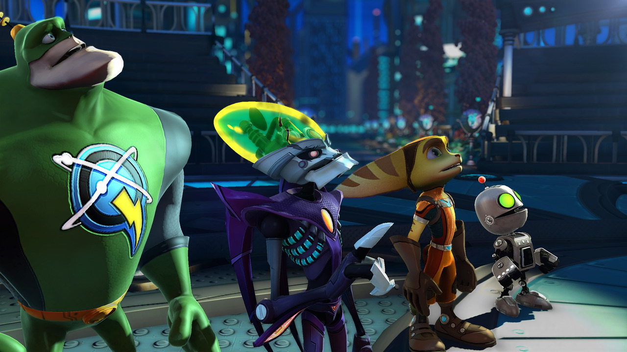 Ratchet & Clank : All 4 One : images + vidéo