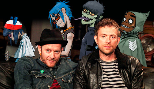 Gorillaz : sortie de 'The Fall'