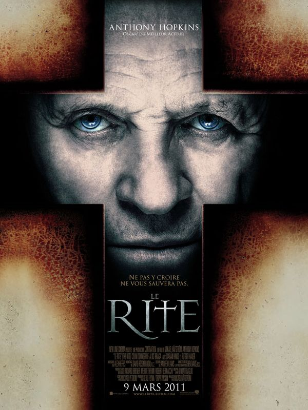 « Le Rite » avec Anthony Hopkins en prêtre exorciste