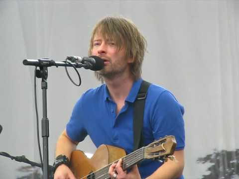 Thom Yorke : concert solo