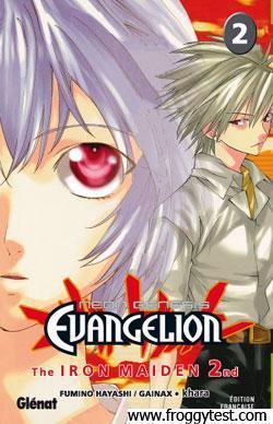 Résumé ==> Neon-Genesis Evangelion Iron Maiden 2nd – Tome 2 '