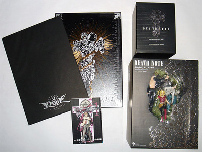 Coffret Death Note limited-edition art-book/box