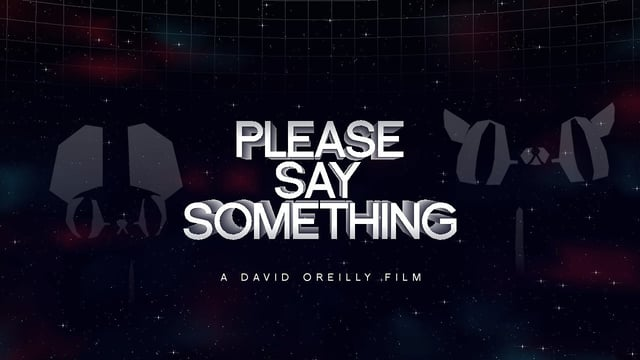«Please Say Something» : un bijou d'animation