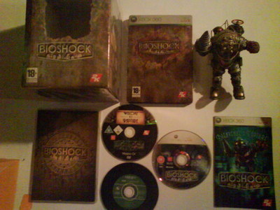 Bioshock – le coffret Collector pour xbox360