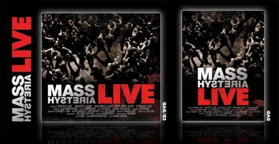'Mass Hysteria Live' en CD/DVD