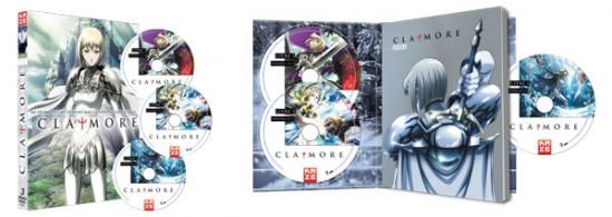 La série «Claymore» sortie en DVD