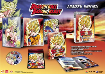 Dragon Ball Raging Blast en coffret collector