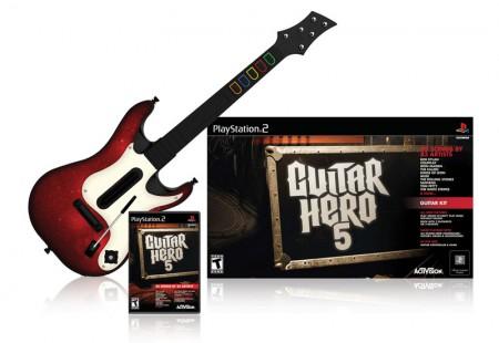 Guitar Hero 5 : liste des morceaux + trailer