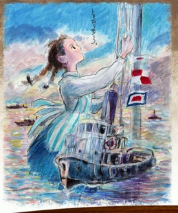 Le studio Ghibli dévoile son nouveau projet : «Kokuriko Zaka Kara»