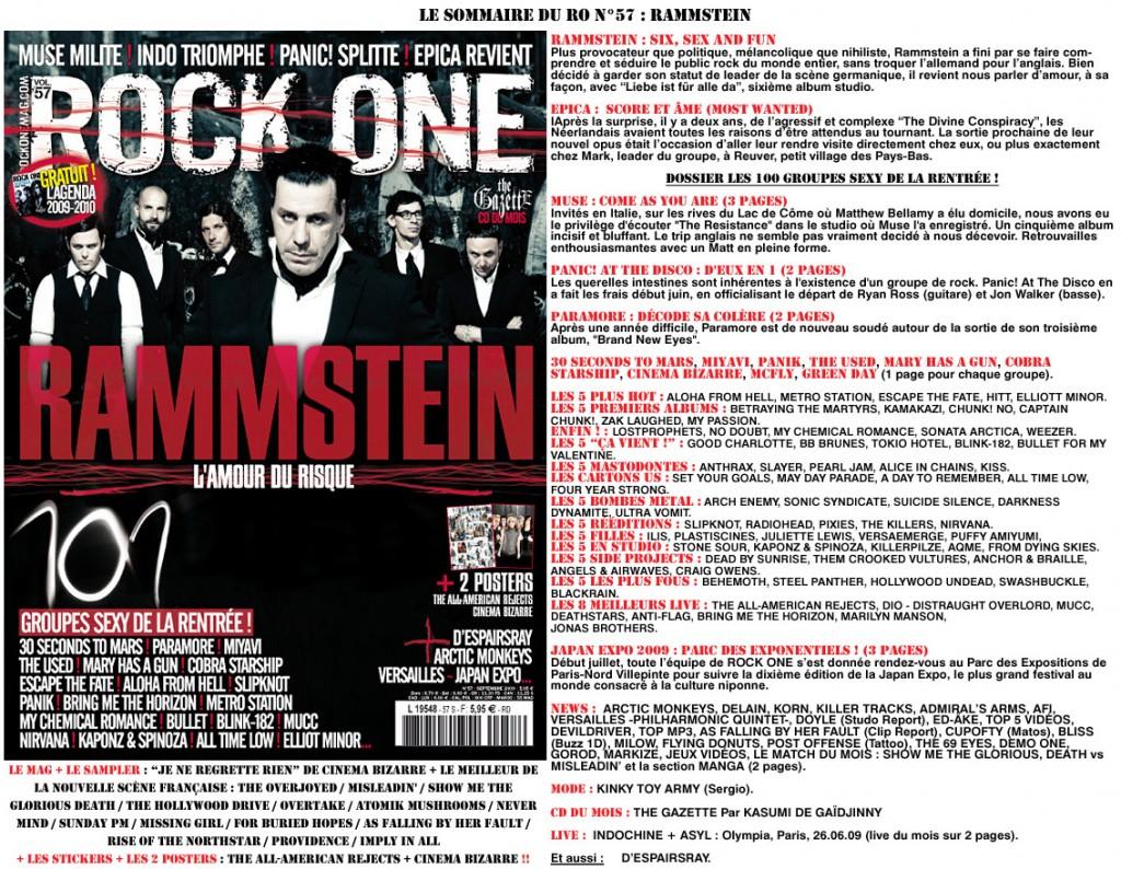 Le nouvel album de Rammstein : titre + track-by-track guide