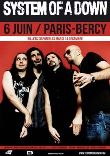 System Of A Down : dates des concerts